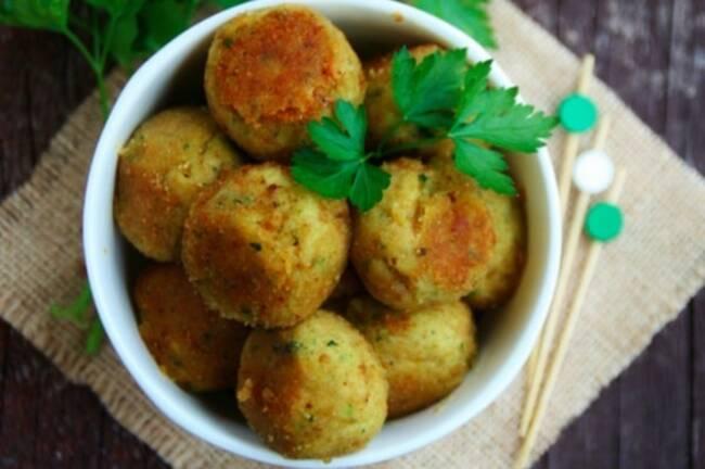 Recette Boules courgettes-pommes de terre