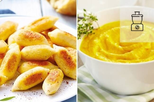 Recette Gnocchis poêlés et mousseline de carottes