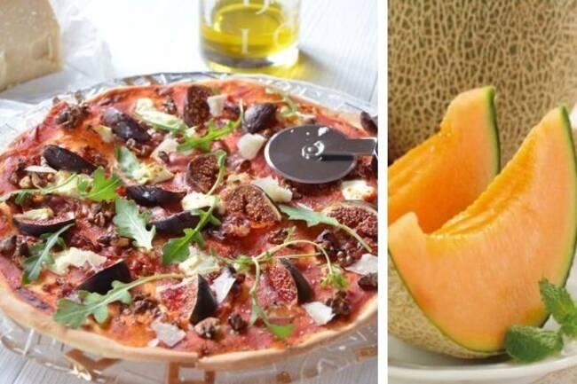 Recette Pizza aux figues, mozzarella et jambon