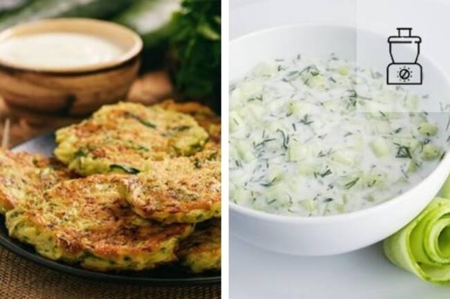 Recette Croustillants courgettes, pommes de terre Con