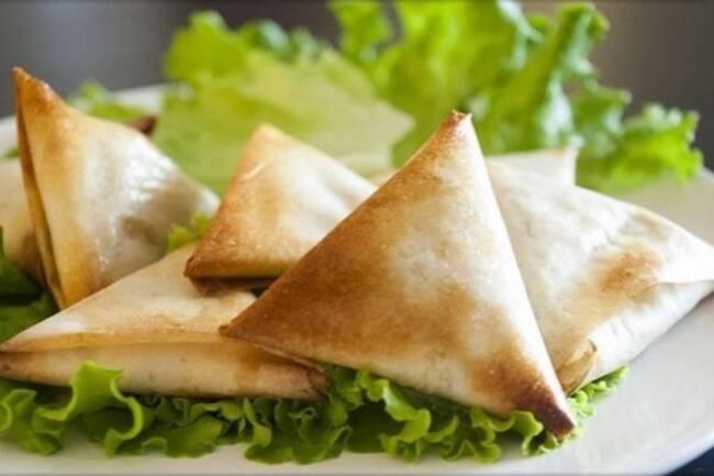 Recette Croustillant de camembert - Salade
