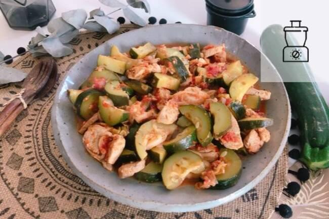 Recette Filet mignon aux légumes  et au cumin SG