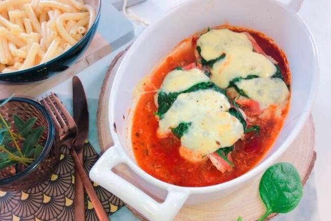 Recette Escalope de dinde à l Italienne, pâtes