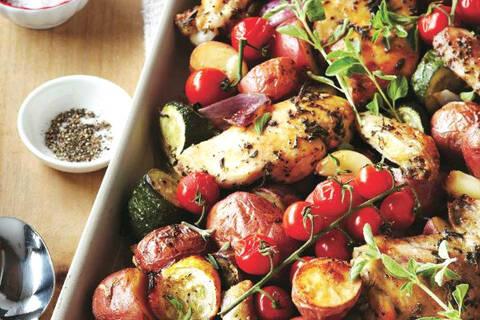 Recette de Aiguillettes de canard au pesto de tomates