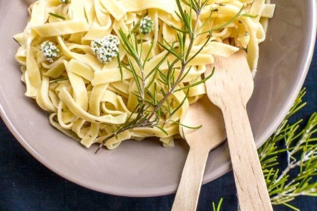 Recette Tagliatelles aux zestes d'agrumes et romarin