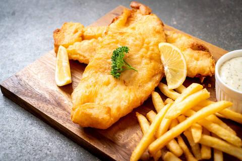 Recette de Fish and chips revisité façon R&C