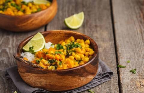 Recette Pois chiche à l'indienne, riz basmati (SG)