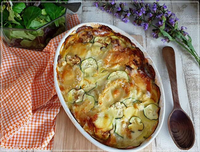 Recette Chèvriflette, salade (SG)