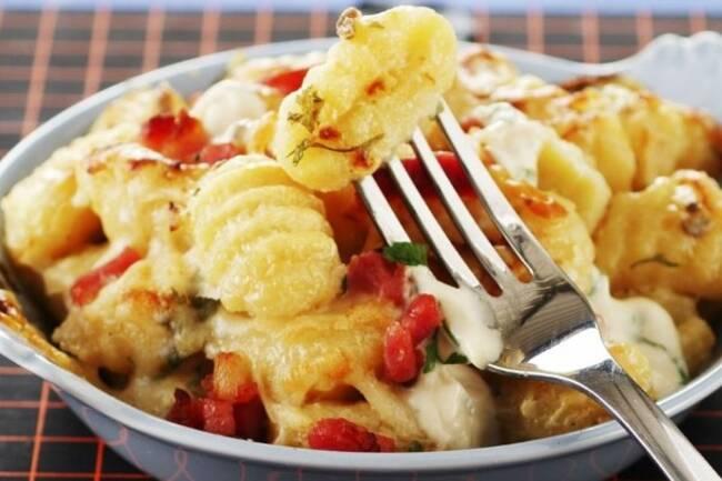 Recette Gnocchis au four à la tomate et mozzarella