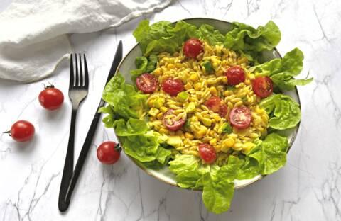Recette Salade de risones aux légumes